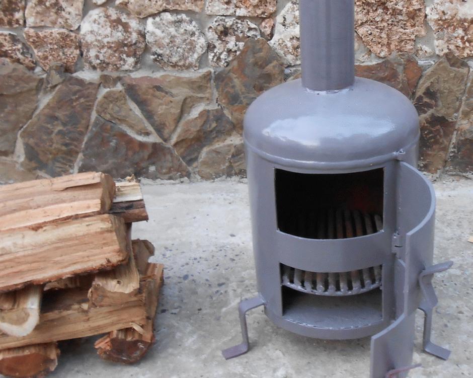 Металлическая печь для бани своими руками фото котла