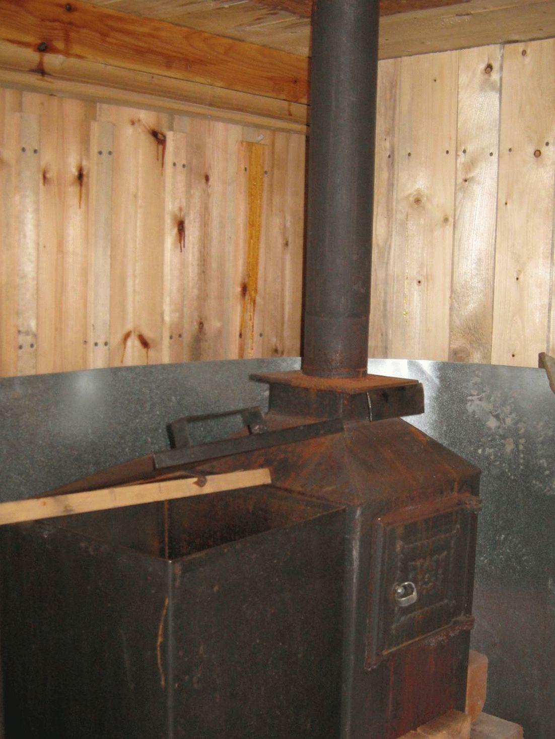 Металлическая печь для бани своими руками установка