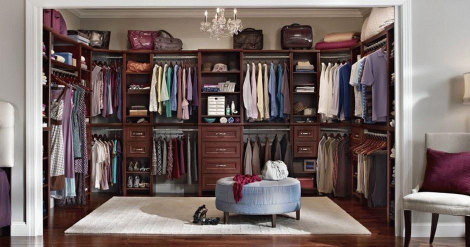 Шикарная гардеробная