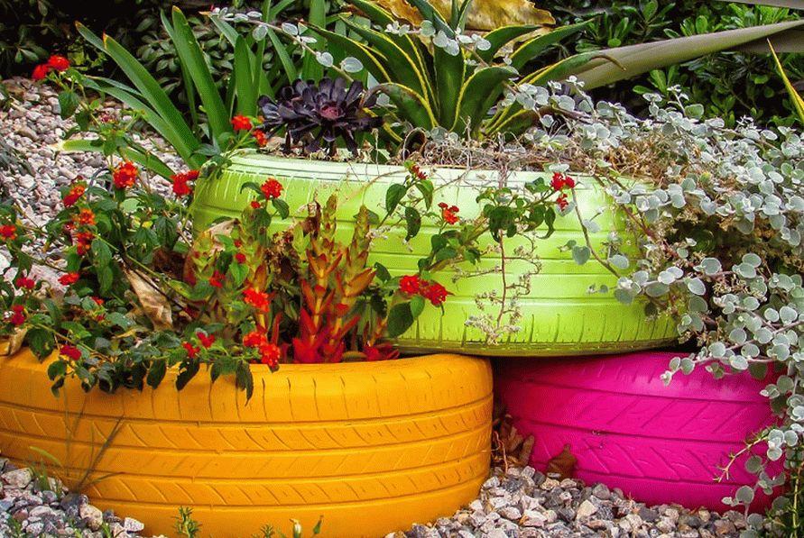 Ограждения для клумб: необычные варианты для украшения вашего сада